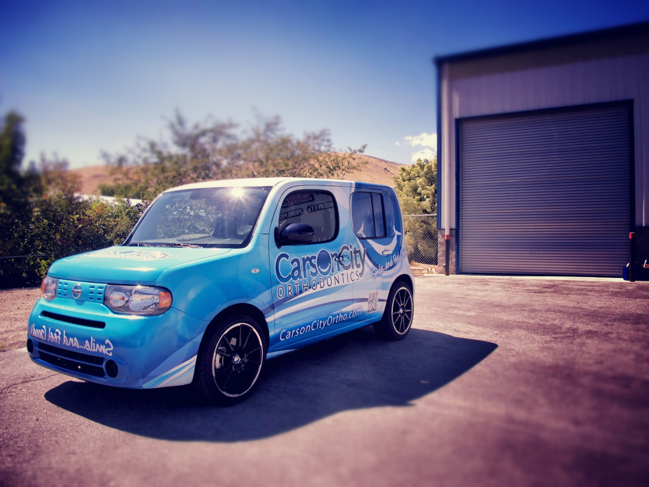 Project: Vehicle Wrap – Carson City Ortho Nissan Cube