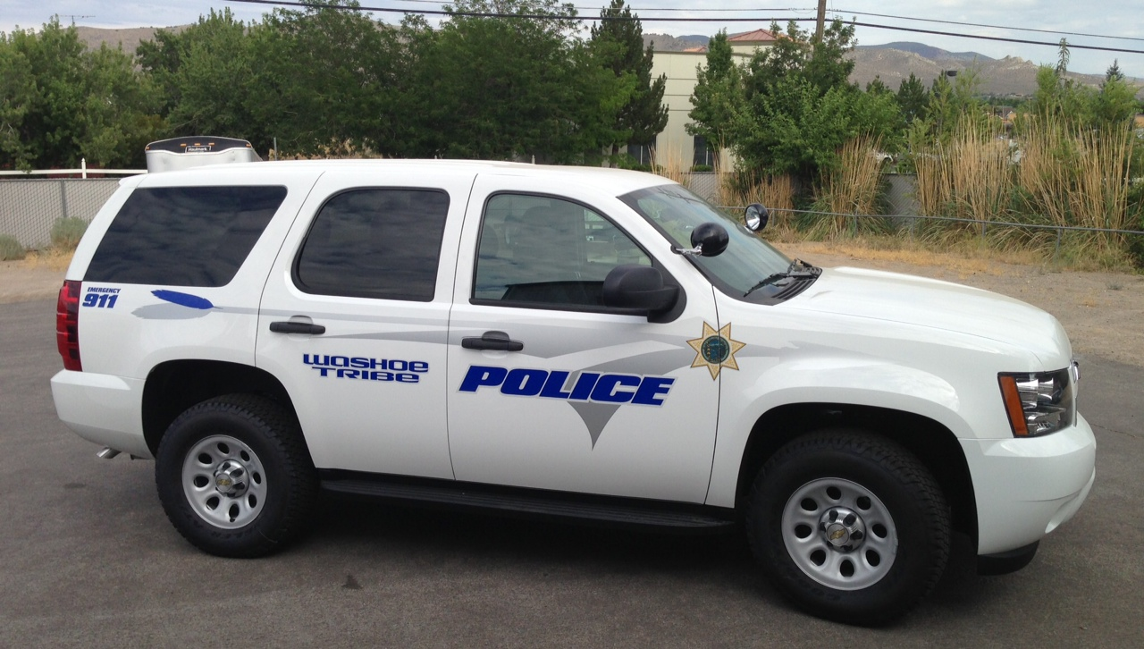 Downtown Toyota Dealer Washoe Tribe Police | Vital Signs // Signs // Banners // Stickers ...