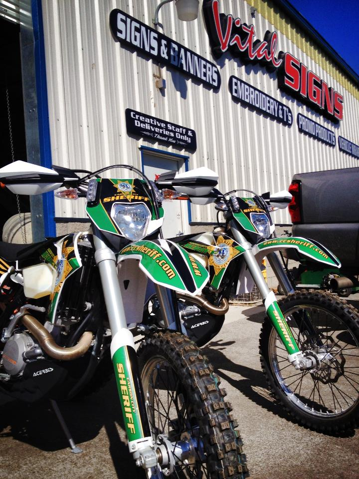 Carson City Sherriff's Office Search and Rescue Bikes