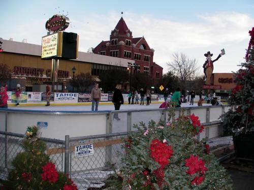 Carson City Winter Ice Rink Advertising