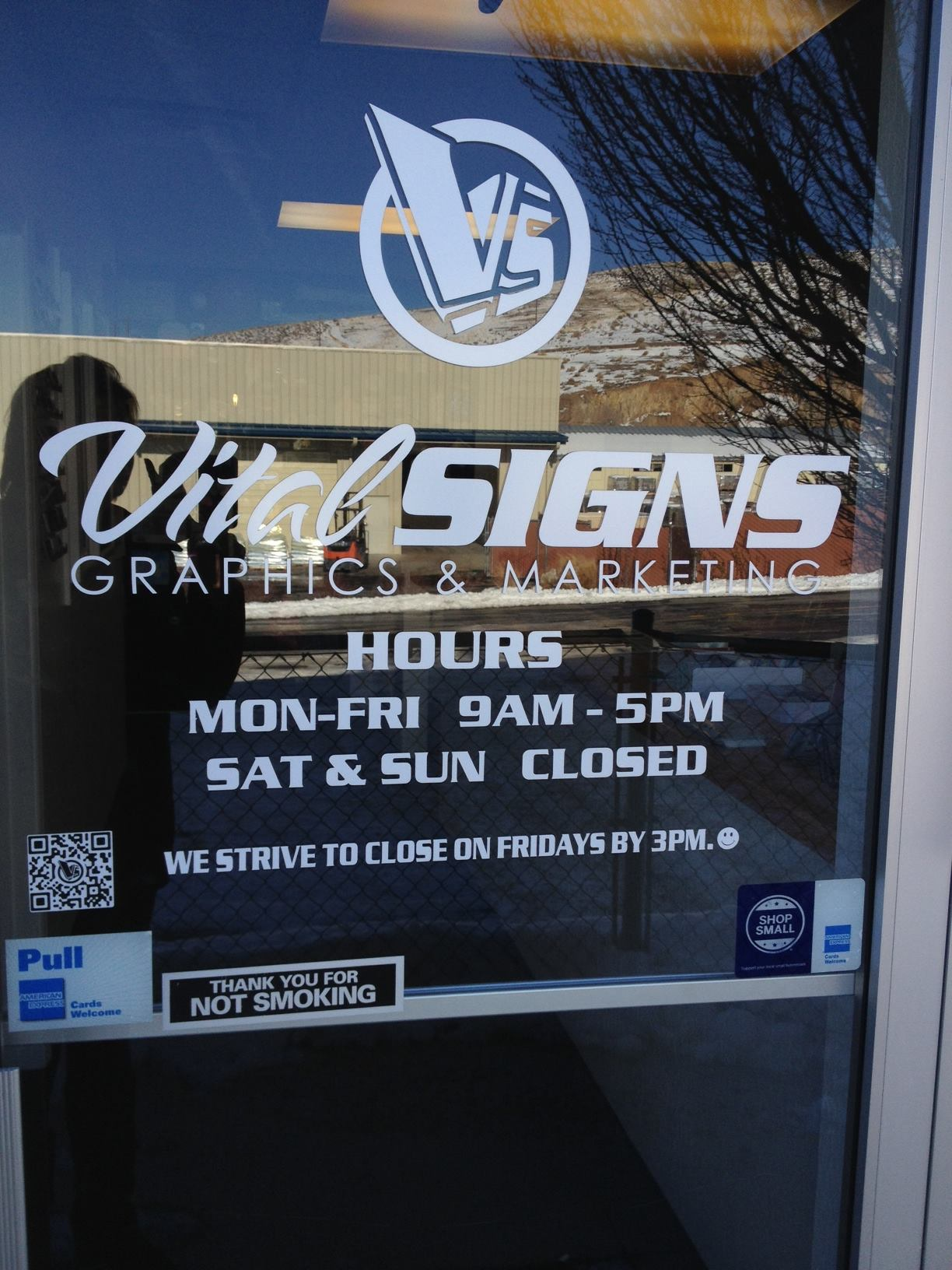Vital Signs Holiday Hours