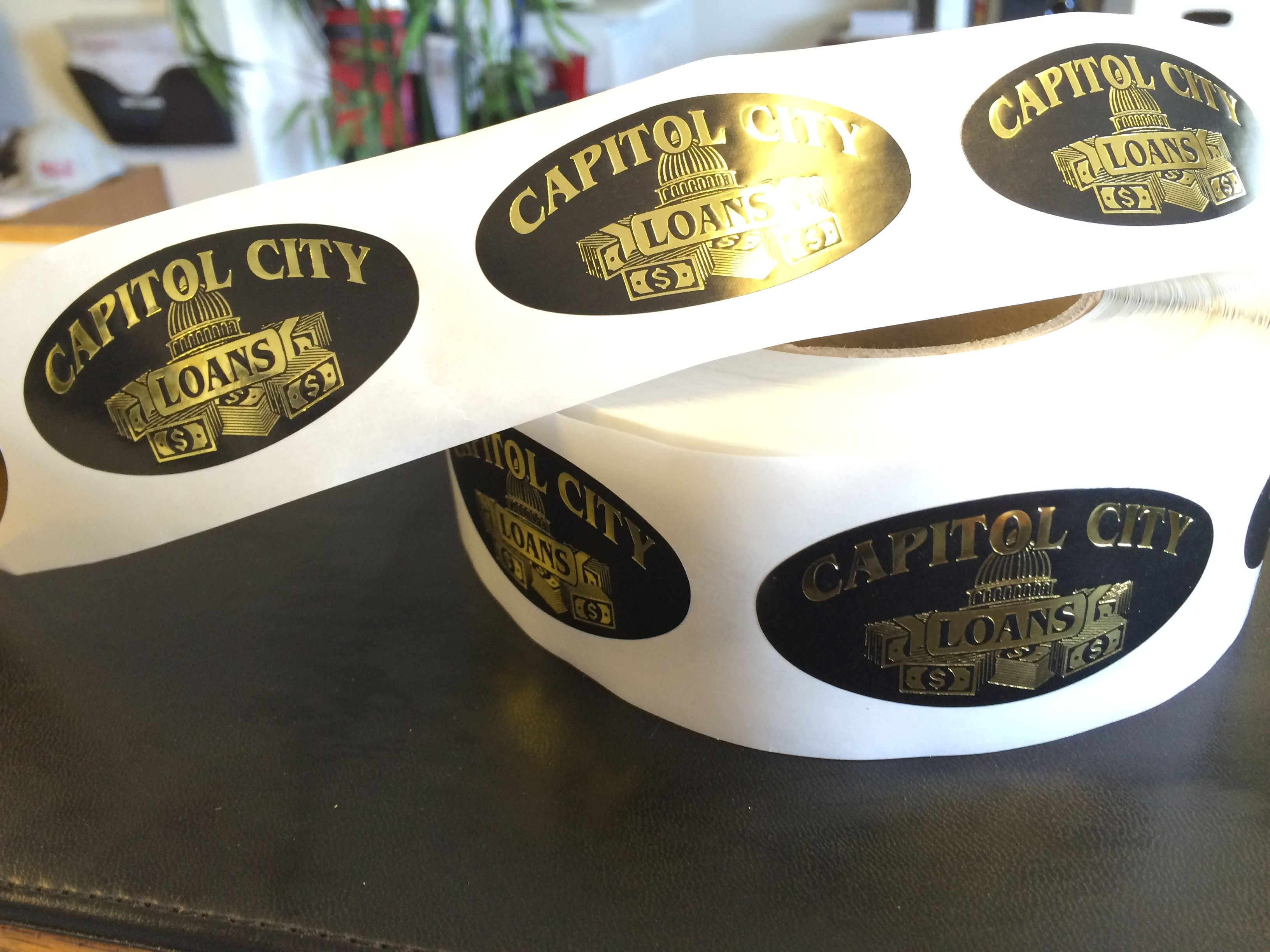 capital loans labels