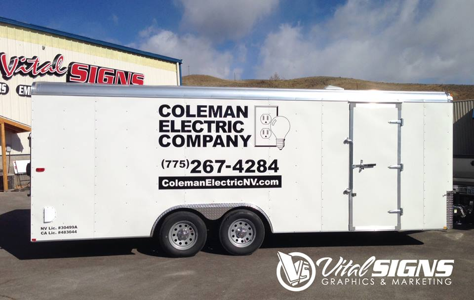 COLEMAN ELECTRIC - TRAILER GRAPHICS
