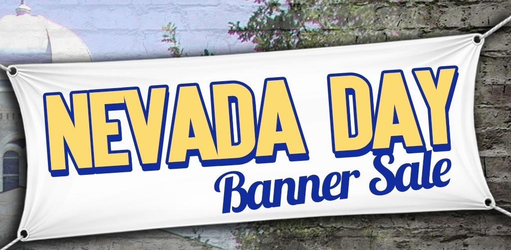 Nevada Day 2016 Banner Sale