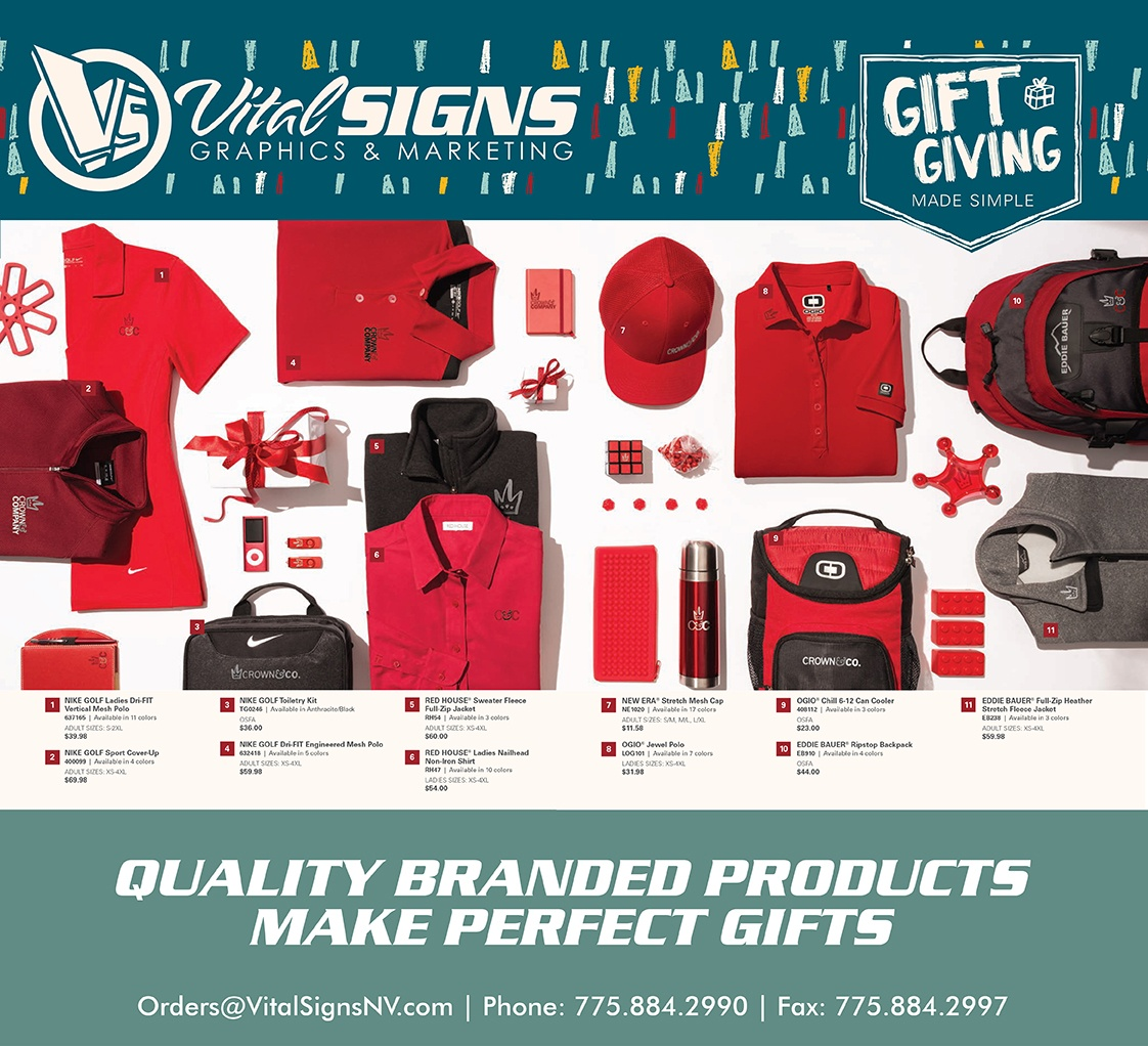 Corporate Gift Giving with Vital Signs